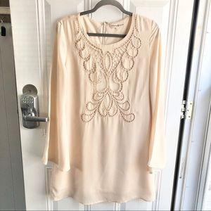 Altar'd State cream women's dress Size Medium